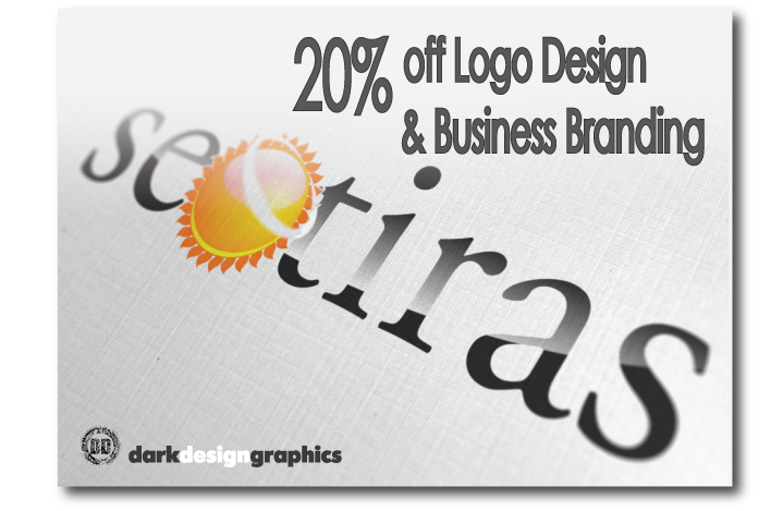 20% Off Logo Design and Business branding from Dark Design Graphics