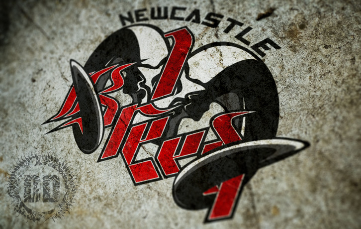 Newcastle 1 Breed Martial Arts Logo Concept from Dark Design Graphics