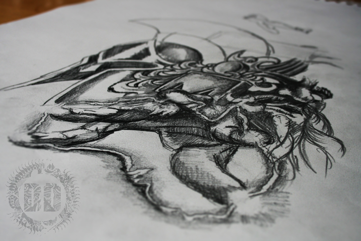 Designing A Half Sleeve Tattoo Design Concept from Dark Design Graphics