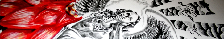 Skeleton Angel Tattoo Design