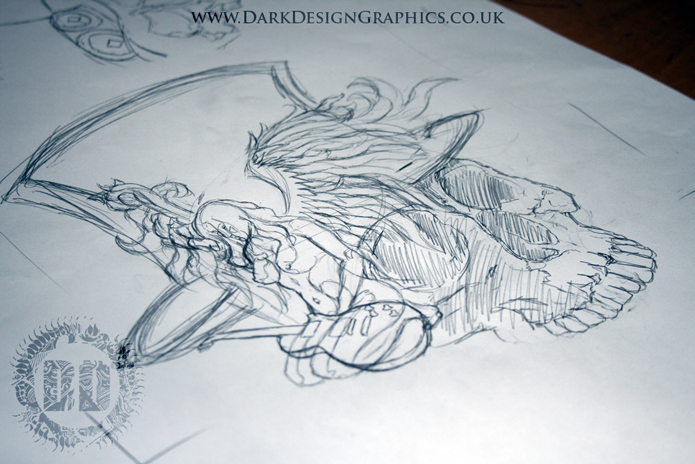Angel And Snake Tattoo Design Finding Your Tattoo Ideas Dark