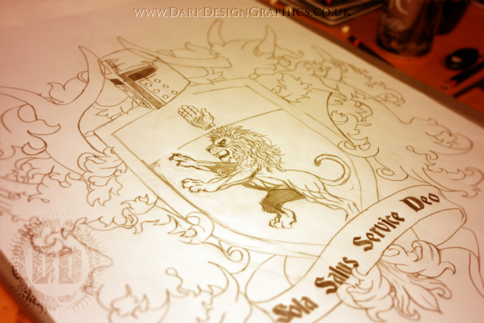 Creating A Heraldic Coat Of Arms Tattoo Design