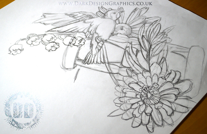 How We Create A Tattoo Design from Dark Design Graphics