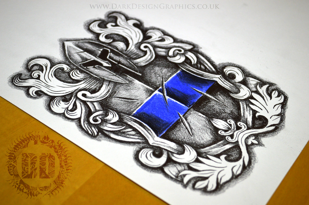 police tattoo design download stencil reference