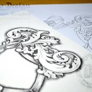 Coat-of-Arms-Tattoo-Template-Stencil-&-Drawing