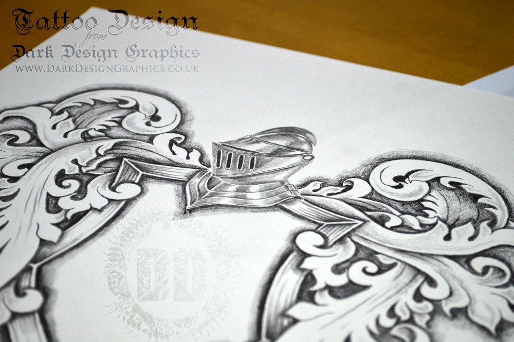 Coat of arms tattoo template helm for Helm design