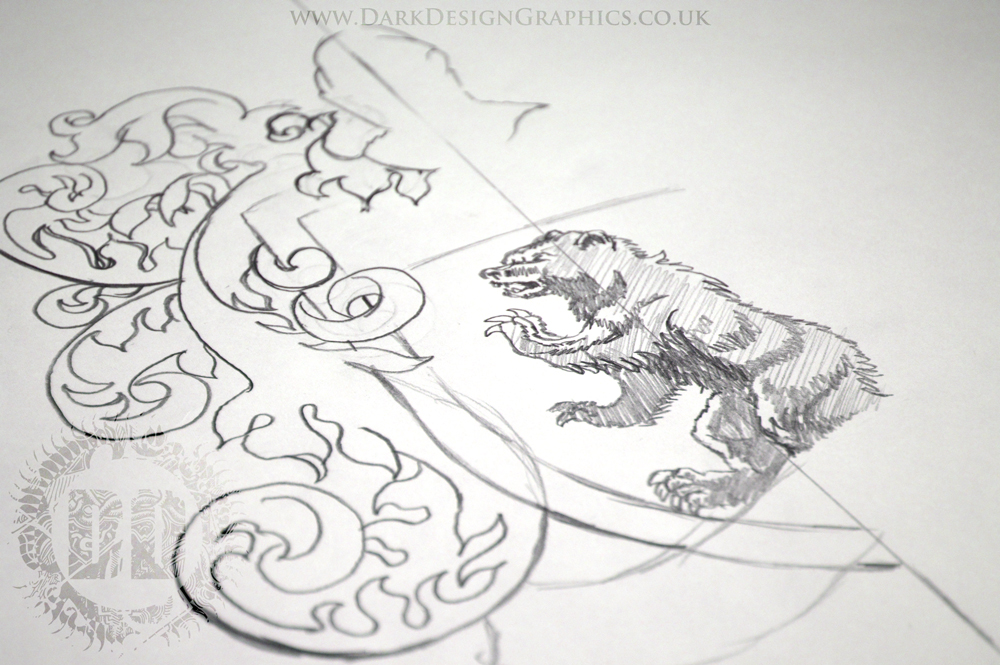 Bear Heraldry - Your Own Coat of Arms