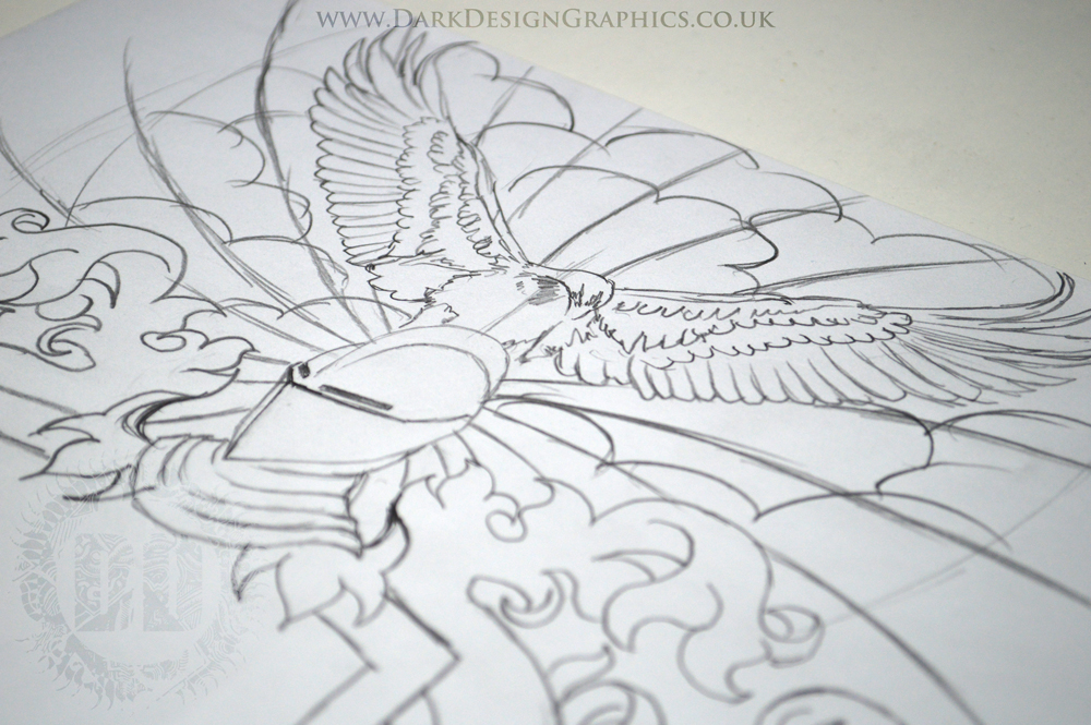 Eagle Tattoo Concept - Your own coat of arms