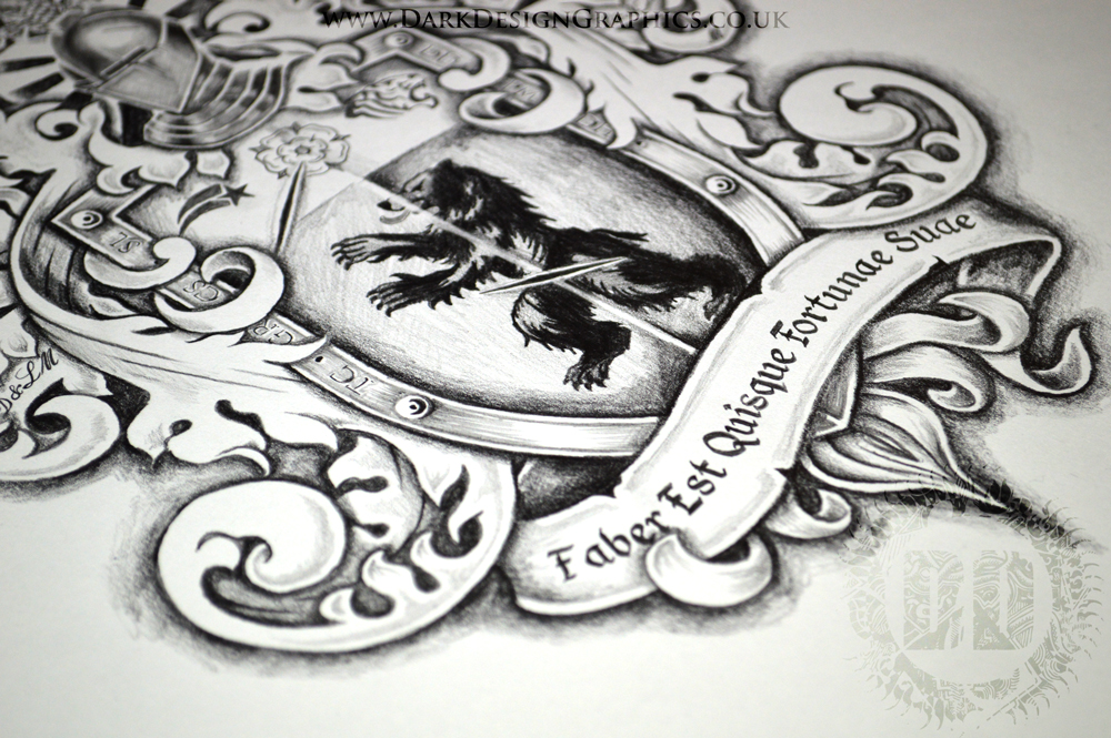 Creating your own Coat of Arms from Dark Design Graphics