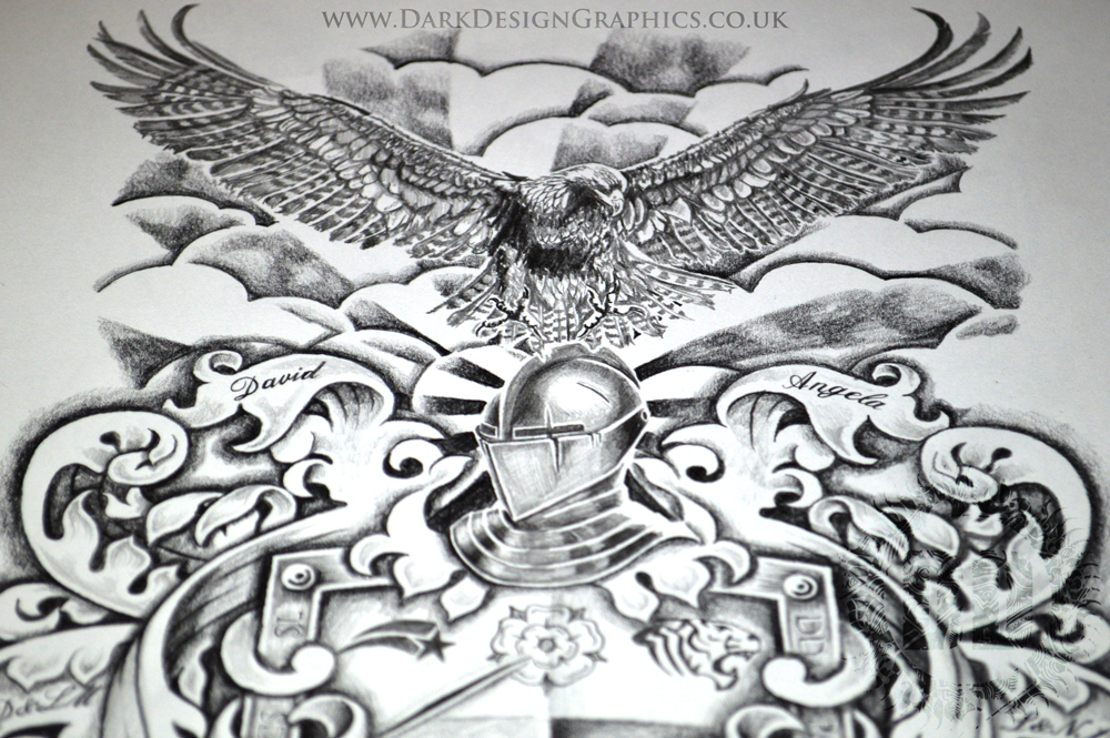 Designing Your Own Coat of Arms from Dark Design Graphics