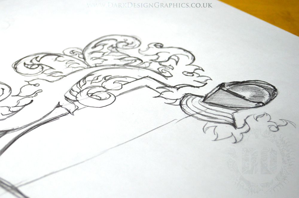 Your own Coat of Arms tattoo design Concept