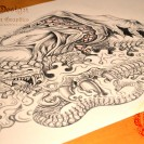Dragon Tattoo Download from Dark Design Graphics
