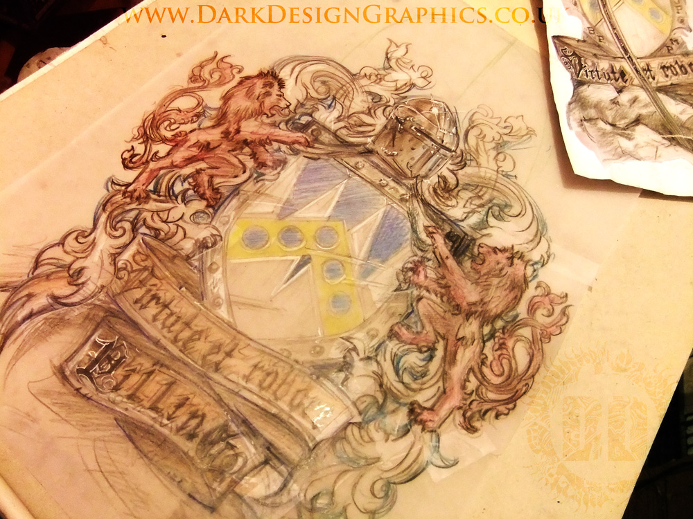 Colour Coat of Arms Concept 02 from Dark Design Graphics