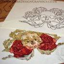 Skull & Roses Tattoo and Stencil Download