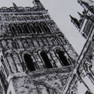 Drawing Durham Cathedral
