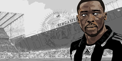 Shola Ameobi wallpaper Available and resized to fit all common screen sizes and iPhone